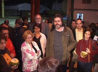 VISITA ABEL PRIETO, MINISTRO DE CULTURA, EL COMPLEJO AGROINDUSTRIAL: MARCELO SALADO, EN CAIBARIÉN.
